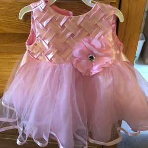 Other - Baby girl pink dress